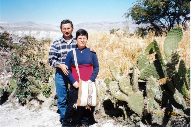 Mis padres en Ayacucho