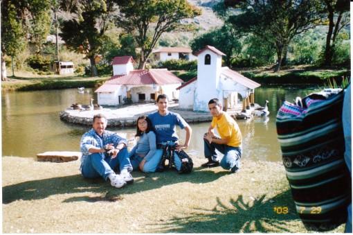 Mi familia en Cajamarca