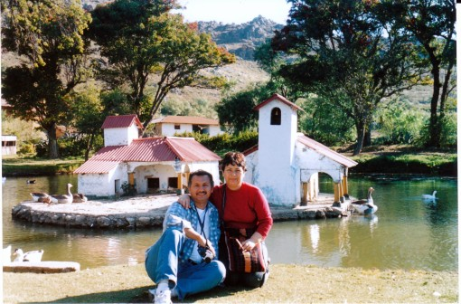 Papá y mamá en Cajamarca