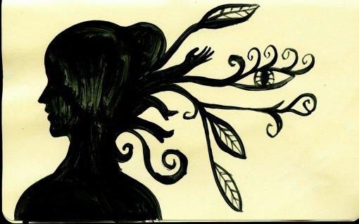 cabello pintura