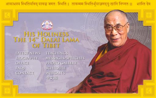 Dalai Lama Web