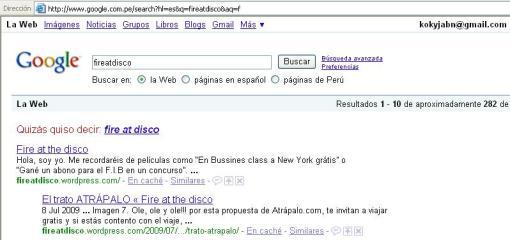 google fireatdisco